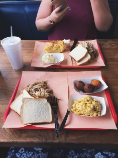 South Carolina style barbecue is spicy and vinegar-y and delicious.