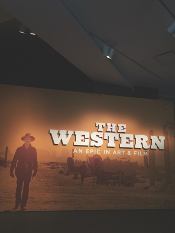 "Entrance to ""The Western"" exhibit"