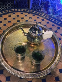 our first Moroccan tea