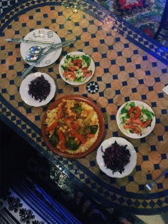 our first and arguably best Moroccan meal