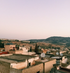 Fez from the rooftop