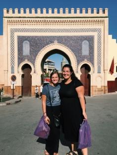"Bab Bou Jeloud, the ""Blue Gate"""