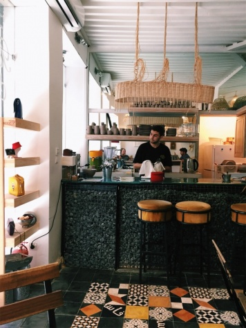 a chic coffee shop we stopped at to drink tea (aka use the wifi)